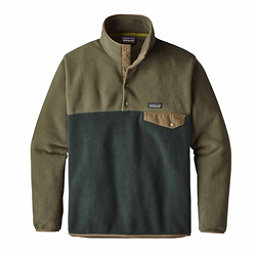 Patagonia Lightweight Synchilla Snap-T Mens Mid Layer, Industrial Green, 256