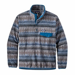 Patagonia Lightweight Synchilla Snap-T Mens Mid Layer, Laughing Waters Smolder Blue, 256