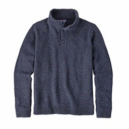 Patagonia Off Country Pullover Mens Sweater, Navy Blue, 256