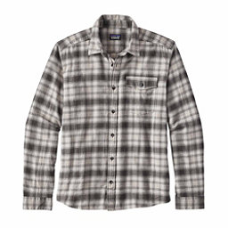 Patagonia Long Sleeved Lightweight Fjord Flannel Shirt, Revival Feather Grey, 256