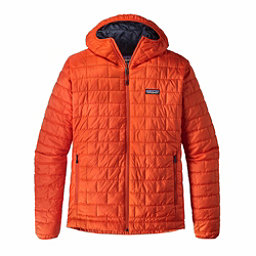 Patagonia Nano Puff Hoody Mens Jacket, Paintbrush Red, 256