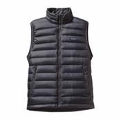 Patagonia Down Sweater Mens Vest, Forge Grey, medium