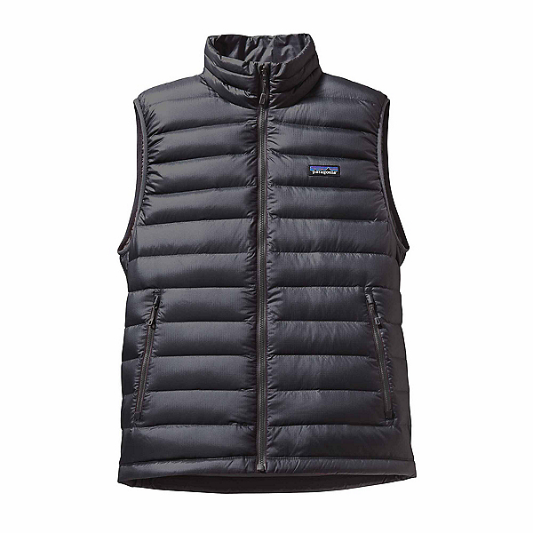 Patagonia Down Sweater Mens Vest, Forge Grey, 600