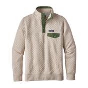 Patagonia Cotton Quilt Snap-T Womens Mid Layer, Birch White, medium