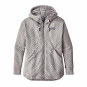 Patagonia Cotton Quilt Womens Hoodie, Drifter Grey, medium