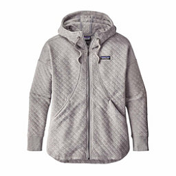 Patagonia Cotton Quilt Womens Hoodie, Drifter Grey, 256