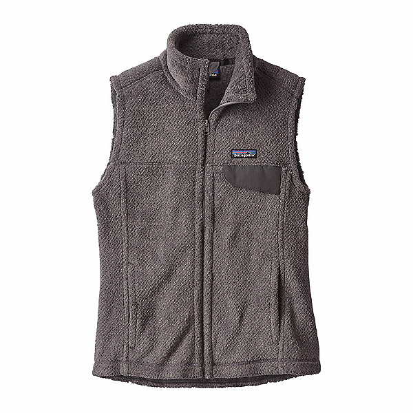 Patagonia Re-Tool Womens Vest, Feather Grey-Ink Black X Dye, 600