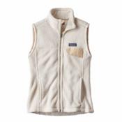 Patagonia Re-Tool Womens Vest, Raw Linen-White X Dye, medium