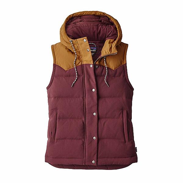 Patagonia Bivy Hooded Womens Vest, Dark Ruby, 600