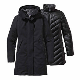 Patagonia Tres 3-in-1 Parka Womens Jacket, Black, 256