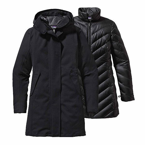 Patagonia Tres 3-in-1 Parka Womens Jacket, Black, 600