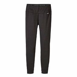 Patagonia Capilene Midweight Womens Long Underwear Pants, Black, 256