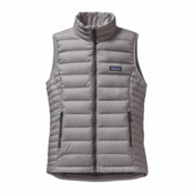 Patagonia Down Sweater Womens Vest, Feather Grey, medium