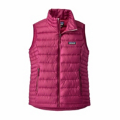 Patagonia Down Sweater Womens Vest, Magenta, medium