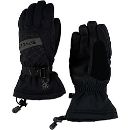 Spyder Overweb Kids Gloves, Black-Polar, 256