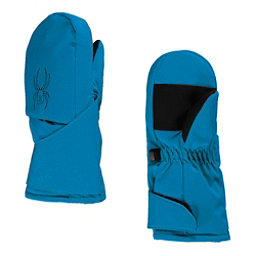 Spyder Mini Cubby Toddlers Mittens, French Blue-Black, 256