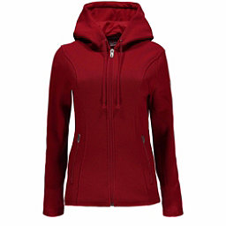 Spyder Endure Hoody Midweight Stryke Womens Sweater, Red, 256