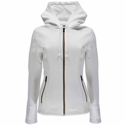 Spyder Endure Hoody Midweight Stryke Womens Sweater, White, 256