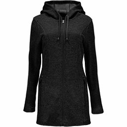 Spyder Endure Novelty Long Midweight Stryke Fleece Womens Sweater, Black-Black, 256