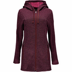 Spyder Endure Novelty Long Midweight Stryke Fleece Womens Sweater, Amaranth-Amaranth, 256