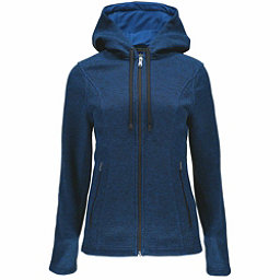 Spyder Endure Novelty Hoody Midweight Stryke Fleece Womens Sweater, Frontier-Frontier, 256
