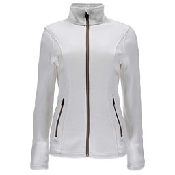 Spyder Endure Full Zip Womens Sweater, White, 256