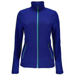 Spyder Endure Full Zip Womens Sweater, Blue My Mind, 256
