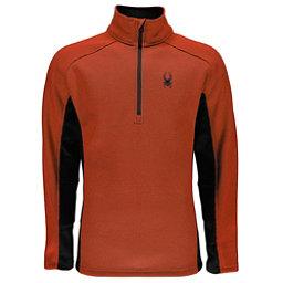 Spyder Outbound Half Zip Mens Sweater, Burst-Black, 256