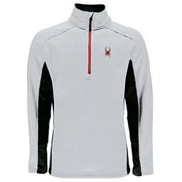 Spyder Outbound Half Zip Mens Sweater, White-Black, 256