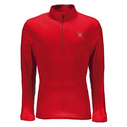 Spyder Limitless Quarter Zip DryWEB Mens Mid Layer, Red, 256