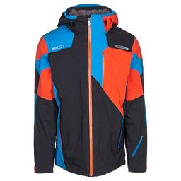 Spyder Vyper Mens Insulated Ski Jacket, Black-Burst, 256