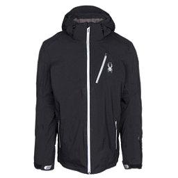 Spyder Leader Mens Insulated Ski Jacket, Black-Black, 256
