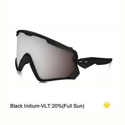 Oakley Wind Jacket 2.0 Prizm Goggles 2018, Matte Black-Prizm Snow Black Iridium, 256