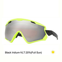 Oakley Wind Jacket 2.0 Prizm Goggles 2018, Matte White-Prizm Snow Black Iridium, 256