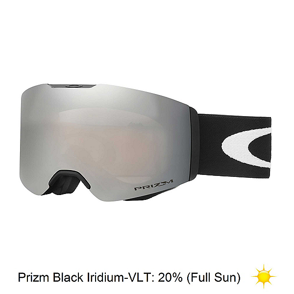 Oakley Fall Line Prizm Goggles 2018, Matte Black-Prizm Black Iridium, 600
