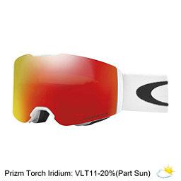 Oakley Fall Line Prizm Goggles 2018, Matte White-Prizm Torch Iridium, 256