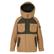 Burton Fray Boys Snowboard Jacket, Kelp-Forest Night, medium