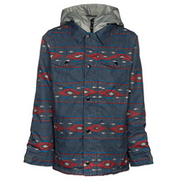 Burton Uproar Boys Snowboard Jacket, Bitters Saddle Stripe, 256