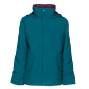Burton Elodie Girls Snowboard Jacket, Jaded, medium