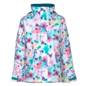 Burton Elodie Girls Snowboard Jacket, Drip Dye, medium