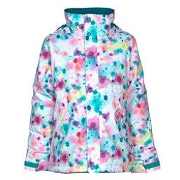 Burton Elodie Girls Snowboard Jacket, Drip Dye, 256