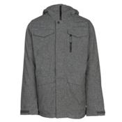 Burton Covert Mens Insulated Snowboard Jacket, Bog Heather, medium