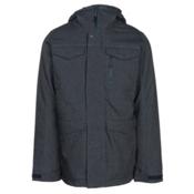 Burton Covert Mens Insulated Snowboard Jacket, Denim, medium