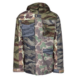 Burton Covert Mens Insulated Snowboard Jacket, Camo Block, 256