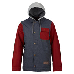 Burton Dunmore Mens Insulated Snowboard Jacket, Denim-Fired Brick, 256
