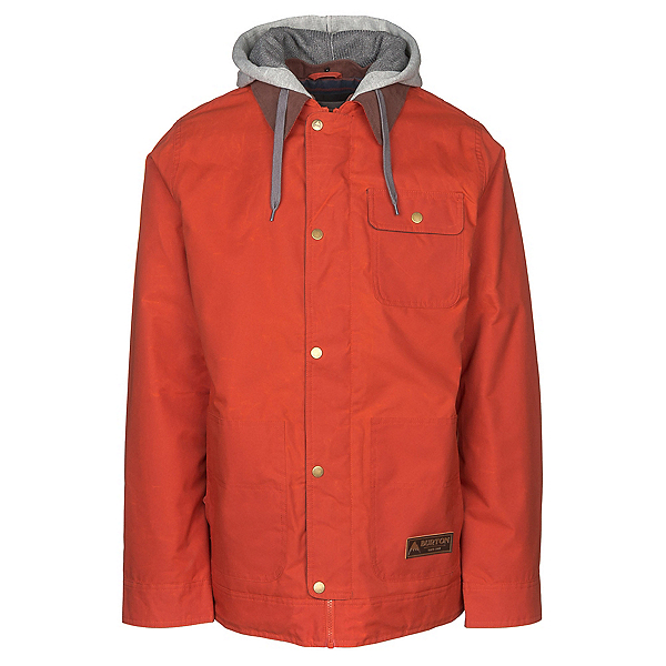Burton Dunmore Mens Insulated Snowboard Jacket, Clay, 600