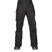 Burton Covert Insulated Mens Snowboard Pants, True Black, medium