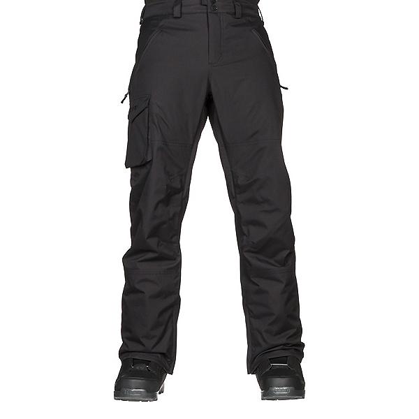 Burton Covert Insulated Mens Snowboard Pants, True Black, 600
