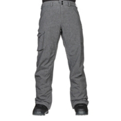 Burton Covert Insulated Mens Snowboard Pants, Bog Heather, medium