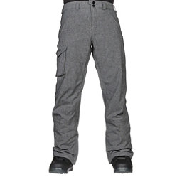 Burton Covert Insulated Mens Snowboard Pants, Bog Heather, 256